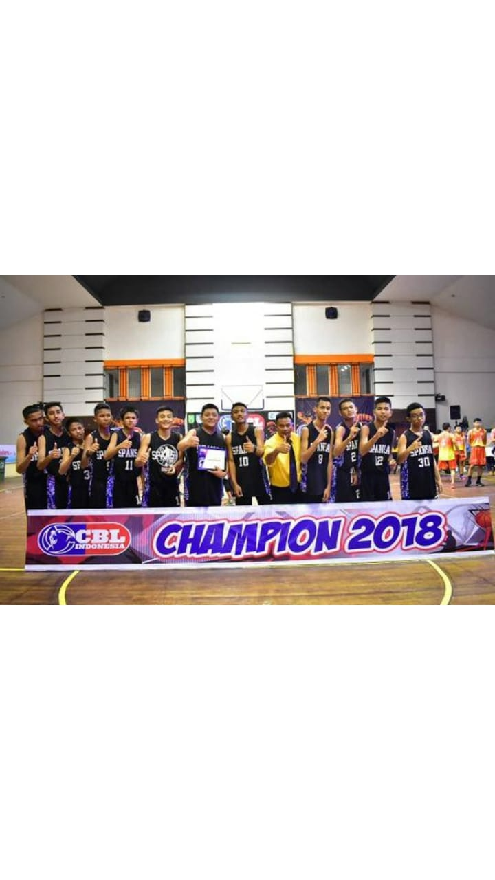 SMPN 1 Kembali Raih Juara I Junio Junior Basketball League Pekanbaru Series 2018