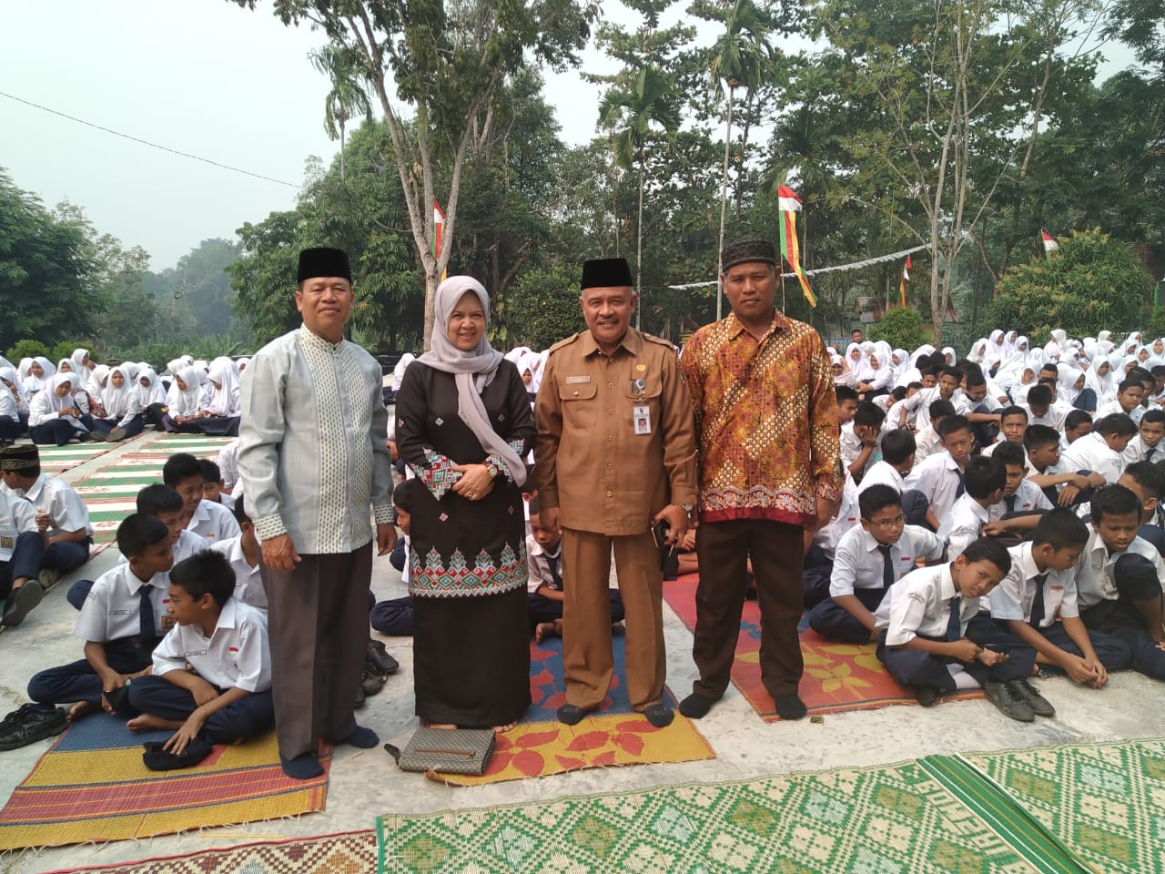 Perkuat Iman dan Takwa, SMPN 15 Pekanbaru Launching Program SOBIT